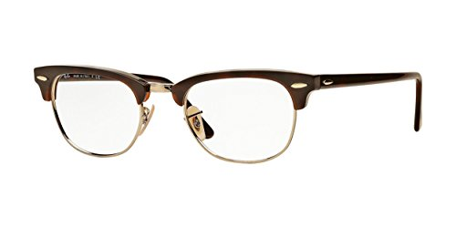 Ray Ban RX5154 Clubmaster Eyeglasses-2372 Red ()