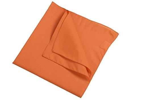Orange 18 foulard En Couleurs 2store24 Uni Bandana waSxZqWYP