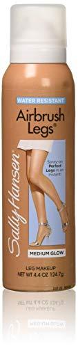 Sally Hansen Airbrush Legs Medium Glow 4.4 Ounce (130ml) (2 Pack) (Sally Hansen Leg Makeup Before And After)
