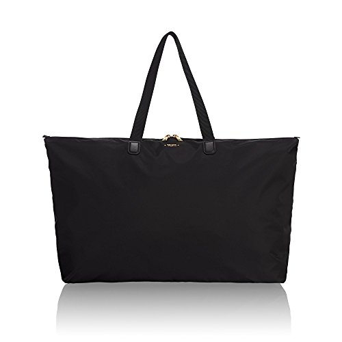 (TUMI - Voyageur Just In Case Tote Bag - Lightweight Packable Foldable Travel Bag for Women - Black)