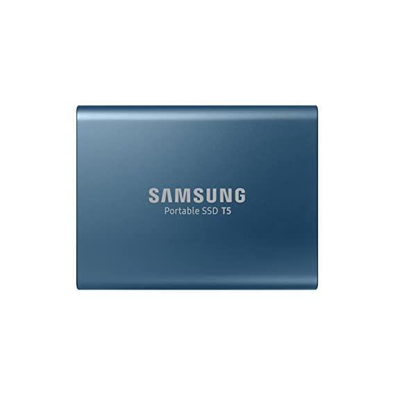Samsung T7 1TB Up to 1,050MB/s USB 3.2 Gen 2 (10Gbps, Type-C) External Solid State Drive (Portable SSD) Grey(MU-PC1T0T)