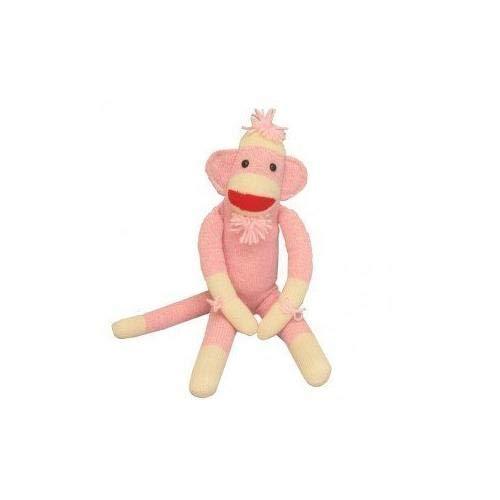 Ozark Mountain Kids Pink Sock Monkey