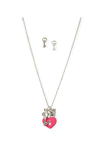 Justice Sister Necklace & Earrings Gift - Justice Earrings