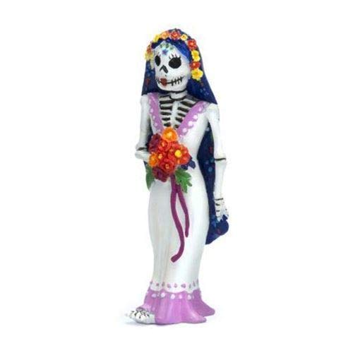 ShopForAllYou Figurines and Statues Miniature Fairy Garden Day of The Dead Bride Catrina Figurine Nightmare -