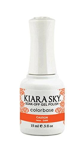 Kiara Sky Gel Polish, Caution, 15 Gram