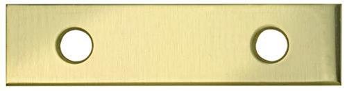 "UPC 033923014120, Stanley National S803-770 Mending Plate 1/2 W x 2"" L Brass - Bright Brass (3)"
