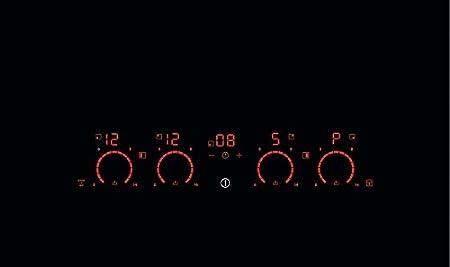 AEG - Vitrocerámica de inducción HK 674406 FB acabado negro ...