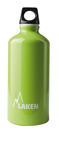 Laken Futura Water Bottle Narrow Mouth Screw Cap with Loop - 20oz, Apple Green