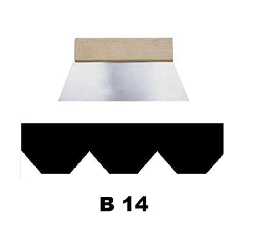 Leim Klebstoff Zahnspachtel Bodenleger Normalstahl B14 6.0x6.0mm gezahnt 180mm Riethmüller