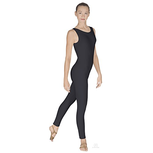 Dancewear Unitard (Eurotard Adult Tank Unitard, Black, Small)