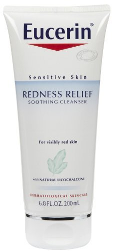 (Eucerin Sensitive Skin Redness Relief Cleansing Gel 6.8 Ounce)