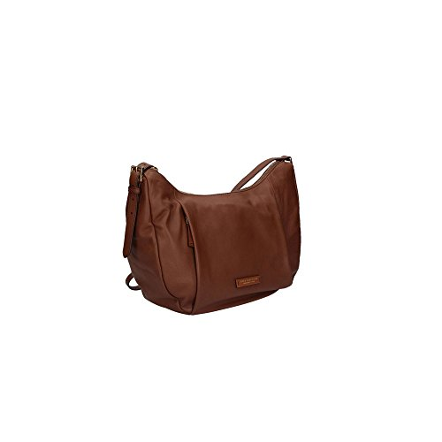 50668a3dfa Borsa a spalla donna The Bridge in vera pelle Cuoio - supertech ...