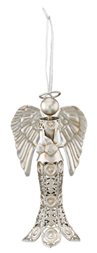 Regal Art & Gift Dove Lace Angel Ornament