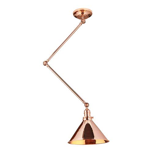 (Elstead Lighting EL/PV/GWP CPR Provence Grande Sconce/Pendant Polished Copper )