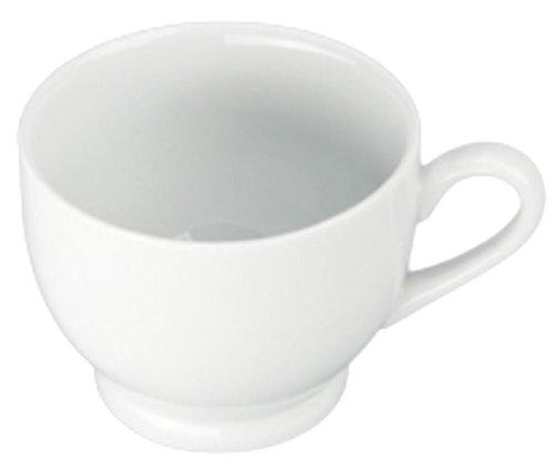 Bia Cordon Bleu White Porcelain 12-Ounce Capuccino, Set of 4