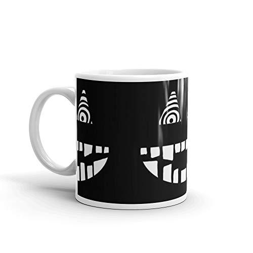 Creepy Face Mug 11 Oz White Ceramic