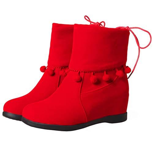 AIYOUMEI Classic Classic Red Red Classic AIYOUMEI Red AIYOUMEI Women's Boot Boot Boot AIYOUMEI Women's Women's rxqfrUp71n