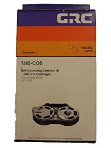New General Ribbon Corporation Ribbon Grc, for Ibm T385-cob - 1-black Correct Ribbon