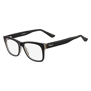 SALVATORE FERRAGAMO Eyeglasses SF2693 009 Black/Brown 55MM