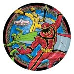 : Power Ranger Mystic Force Paper Dessert Plates