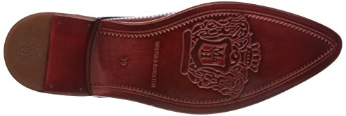 Derby Classic Zapatos Cordones 1 Perfo Red de Toni Hombre Ls Melvin amp;Hamilton Rojo wzq4YtxOXB