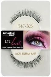 1f892dea247 Amazing Shine Human Hair False Eyelashes - 747-XS
