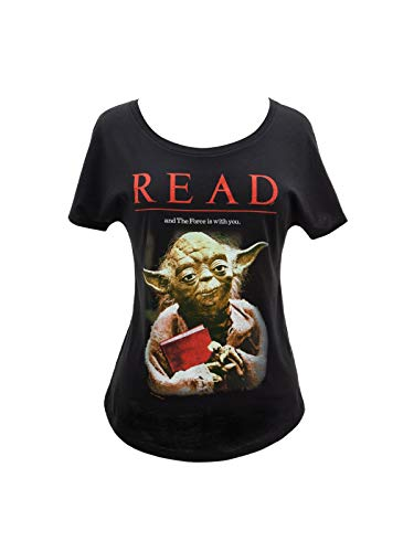Out of Print Star Wars Read Yoda Dolman Shirt Small