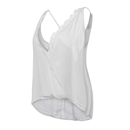 Tops Camicia Stampato Casual Eleganti Boemo Odejoy Donna Estive shirt Moda Felpa Bello 14 Loose Camicetta Canotta Vest Bianca Da Maglietta A Sleeveless T Blusa 7qSn1Zzq