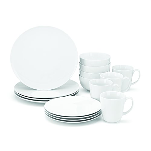Food & Wine For Gorham The Entertainer 16-Piece Dinnerware Set