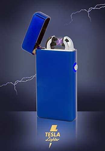 TESLA Lighter T08 Double Arc Gold