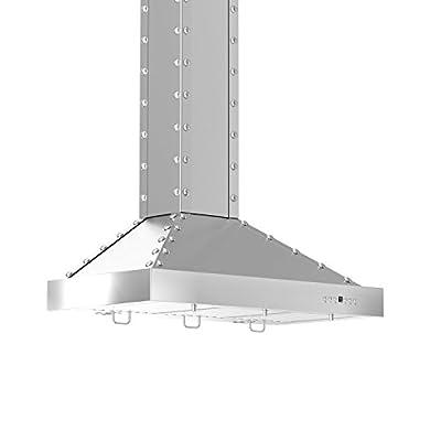 ZLINE 36 in. 760 CFM Designer Series Wall Mount Range Hood (KB2-SSSXS-36)
