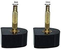 per riparazioni di scarpe e maschi, Broches Fines-2.4mm erioctry resistenti e di alta qualit/à 8mm 6 paia di talloni