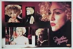 Dick Tracy 1990 Madonna BREATHLESS MAHONEY Walt Disney Poster Mint Sealed (Full Size 22