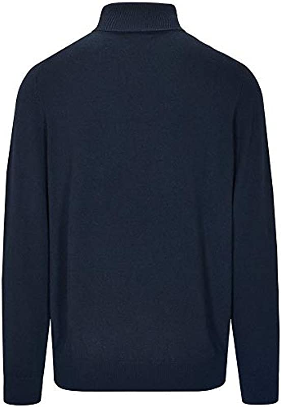 Commander męski kaszmir kołnierz rolowany sweter Uni: Odzież