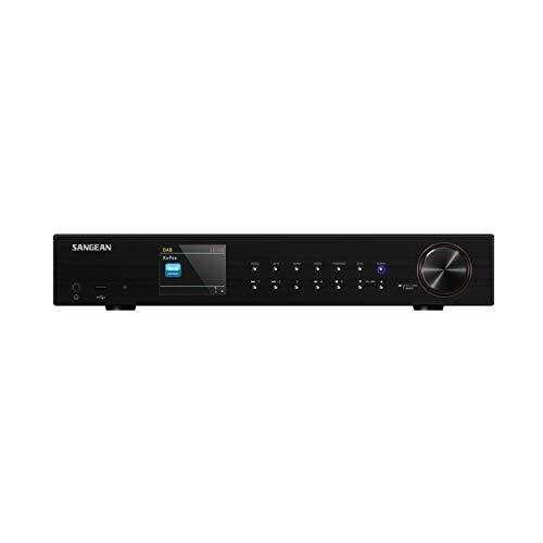Sangean WFT-3 Internet Radio (netwerk Music-Player, WiFi, DAB+, Spotify-speler, USB, FM RDS, AUX-In, met…