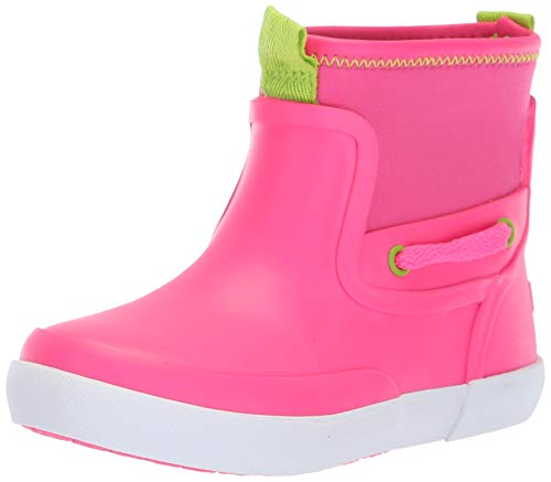 Image of Sperry Girls' Seawall Boot Sneaker, Pink, 7 Medium US Toddler