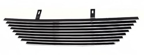 APS F86009A Polished Aluminum Billet Grille Replacement for select Ford Mustang Models