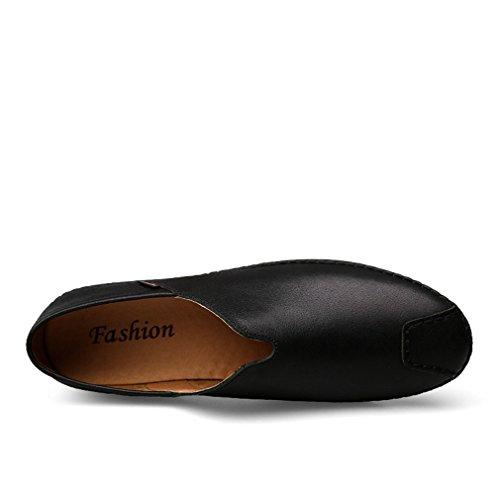 Scarpe Assorbimento Degli Ventilazione 39 Da All'usura Fannullone Uomo Da Deodorizzazione Resistenza Guida Smart On Urti Casual Scarpe Pelle YAN Slip In O4v6Owq