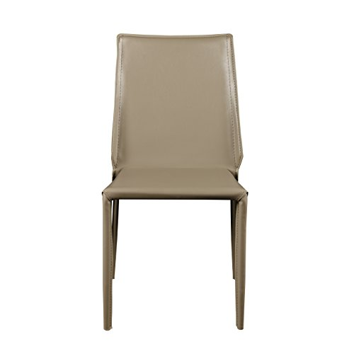 - Euro Style 02387LTGRY Alder Dining Chair Light Gray