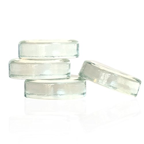 Sauer Stones - Large Glass Fermentation Weights for Mason Jar Fermentation, Preservation and Pickling - Fits ANY WIDE MOUTH MASON JAR - 4 Pack by Fermentology (Image #1)