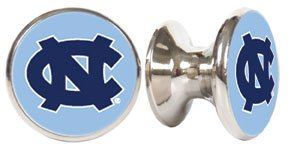 North Carolina Tar Heels NCAA Stainless Steel Cabinet Knob / Drawer (North Carolina Drawer Pulls)