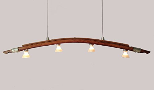 wine barrel lighting. amazoncom saba recycled wine barrel stave pendant light kitchen island lighting handmade
