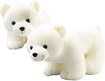 CLH0405 Oso Polar Peluches Pequeños Animales Lindos Muñeca ...