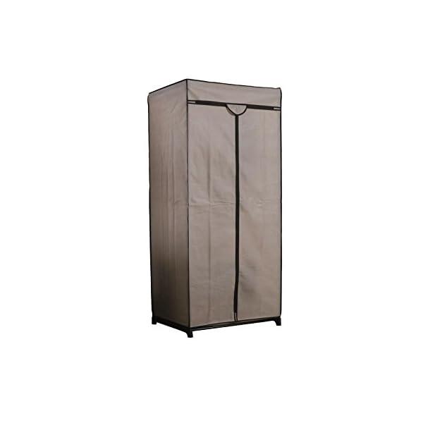 Compattatore-Ran-6663-Dressing-Chic-Armadio-75-x-50-x-160-cm-Beige-tela