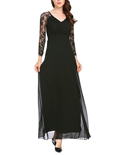 full length long sleeve dress - 7