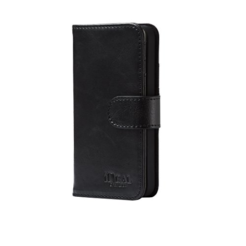 iDeal of Sweden Mobile Phone Magnet Wallet+ for iPhone SE/5/5S [Slim Design] [Card Slots] [Magnet Shut] [Black]