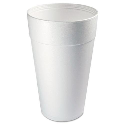 DCC Conex Foam Cup, 44 oz., Hot/Cold, White, 20/Bag (44TJ32) ()