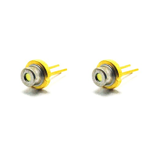 2pcs Diode for 808nm 300mW 5.6mm Infrared IR Laser LD Producing Green (808 Nm Laser Diode)