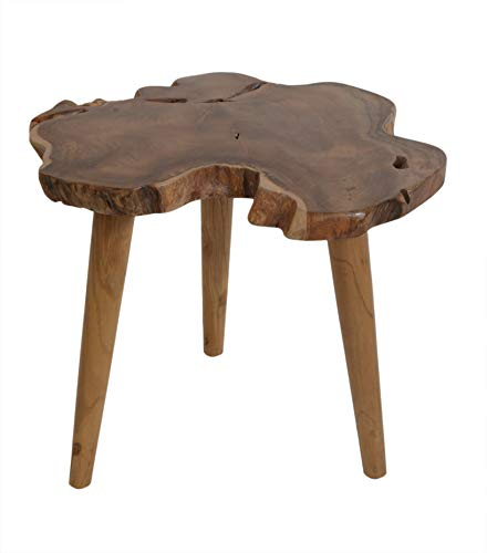 East at Main OR-OR513-L Mireille end Table Brown ()