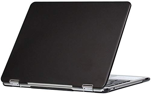 mCover Hard Shell Case for 2018 12.2 Samsung ChromeBook Plus XE521QAB Series (NOT Compatible with Older XE513C24 / XE510C24 / XE303C12 / XE500C12 / XE503C12 Models) Laptop - Black
